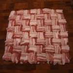 """""""Bacon Weave How To,"""" from The Hog Blog, via Make It Like a Man! Bacon Wrapped Meat Roll"""
