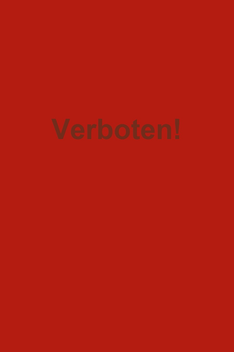 Verboten, from Make It Like a Man! No-Bake Therapy