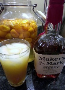 Kumquat Cocktail, via Make It Like a Man!