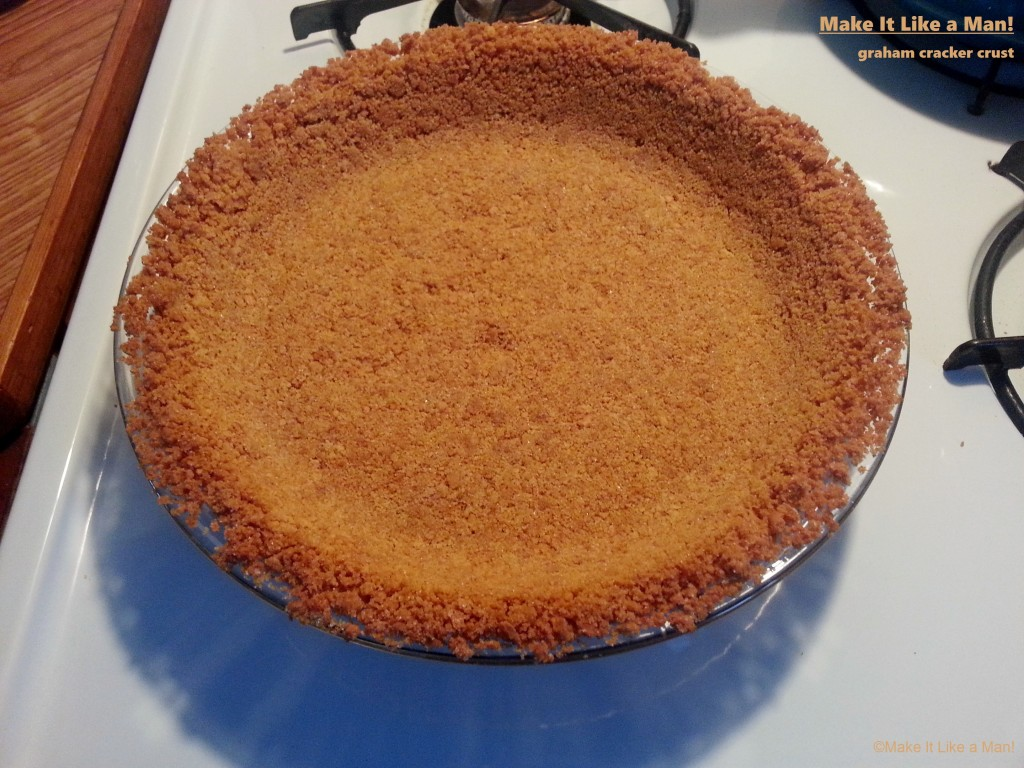 Graham Cracker Crust, from Make It Like a Man!