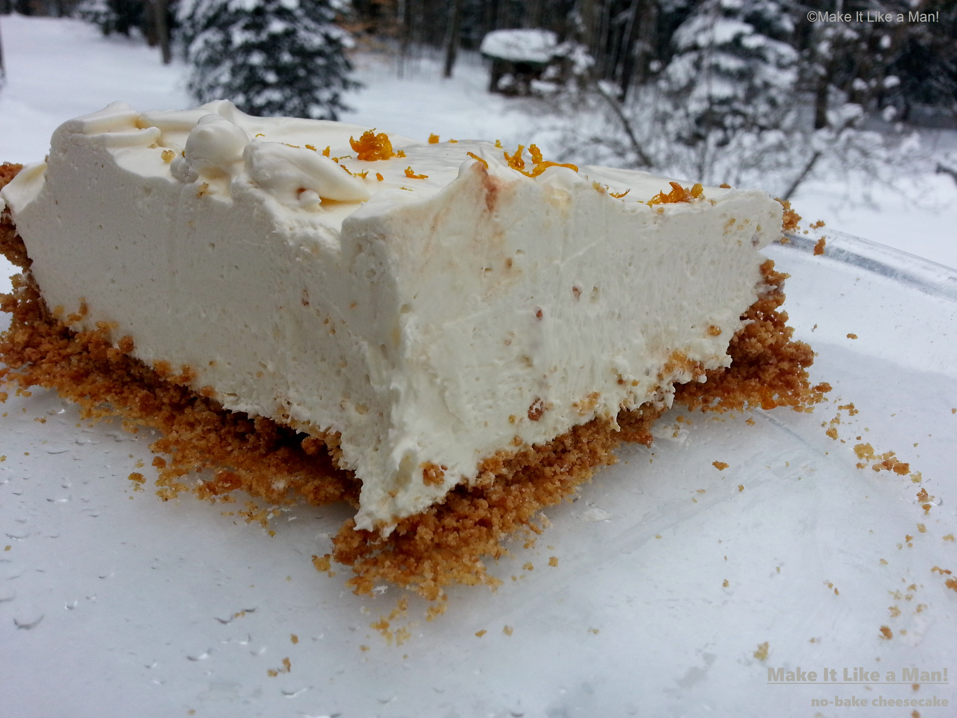 "Frozen No-Bake Cheesecake,"" from Make It Like a Man"
