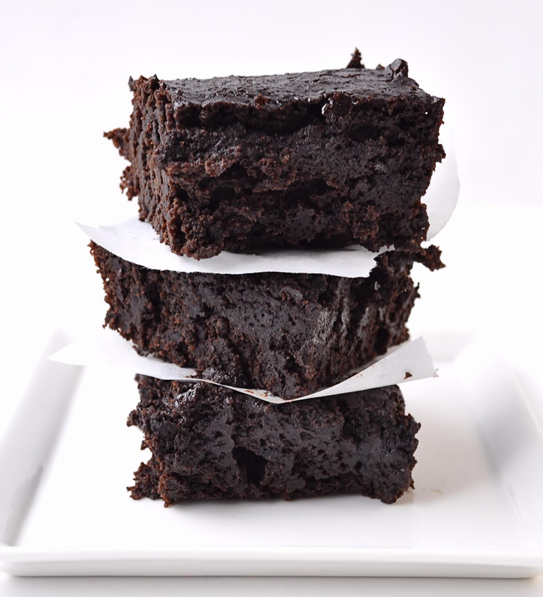 """Dark Chocolate Stout Brownies,"" from Farm Girl Gourmet, via Make It Like a Man! The Brownie Collective"