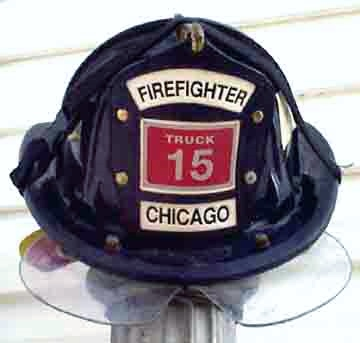 """Helmet Chicago Firefighter 15,"" from D Captain, via Make It Like a Man! Firehouse Jerky"