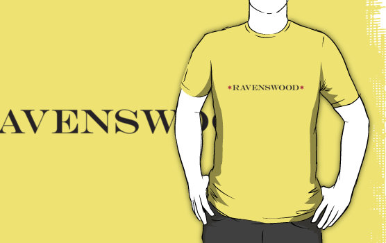 """Ravenswood T-Shirt,"" from Red Bubble, via Make it Like a Man! Free Wi-Fi in Ravenswood"