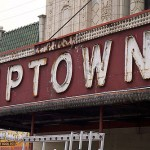 """""""Uptown Theater Marquee,"""" from Red Line Project, via Make It Like a Man! The Vader"""