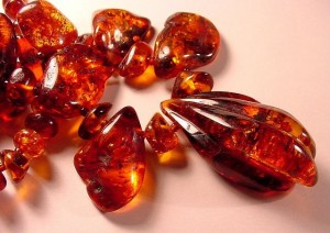 """""""Red Baltic Amber,"""" from Cochise College, via Make It Like a Man! Caramel"""
