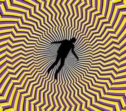 """Vertigo Illusion,"" from Mighty Optical Illusions, via Make It Like a Man! Under the Influence"