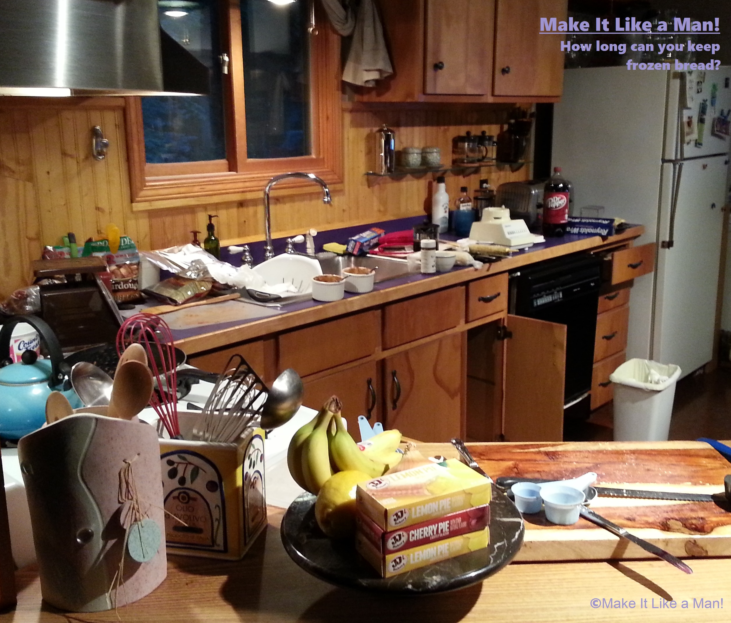Messy Work Kitchen: How Do You Freeze Bread, And How Long Will It Keep?