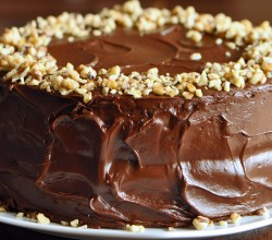"""""""Buttermilk Banana Cake with Coffee-Chocolate Frosting,"""" from Sifting Focus"""