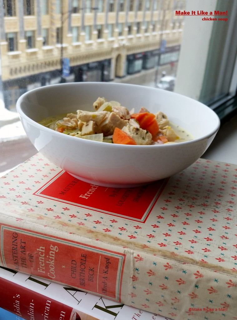 """""""Homemade Chicken Soup Recipe, Using Chicken Breasts,"""" from Make It Like a Man!"""