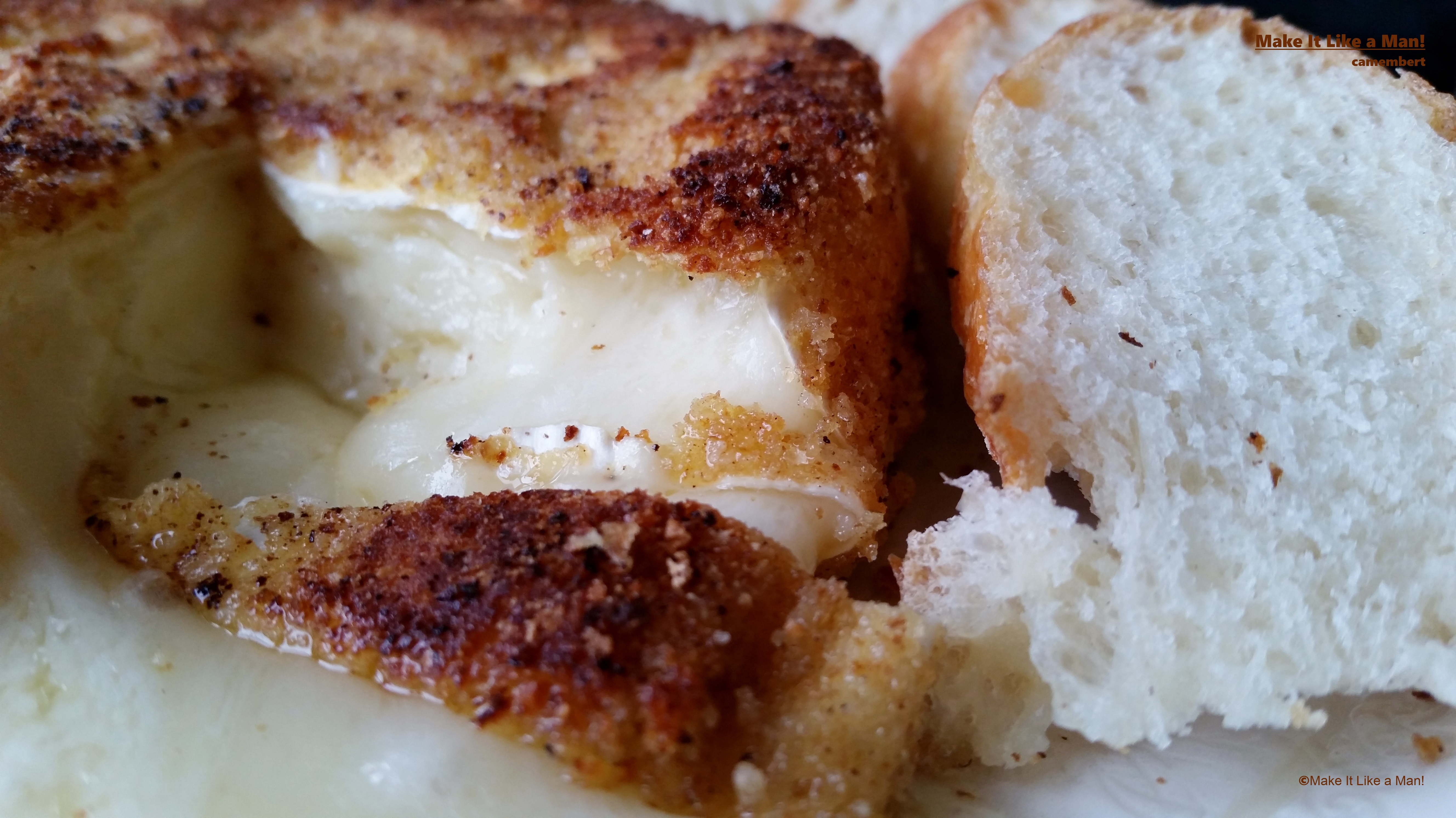 how to serve camembert warm