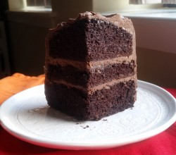 """""""Dark Chocolate Olive Oil Cake,"""" from Make It Like a Man!"""