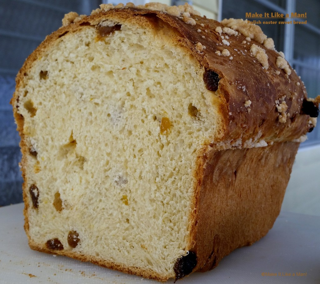 """Polish Easter Sweet Bread,"""" from Make It Like a Man!"""
