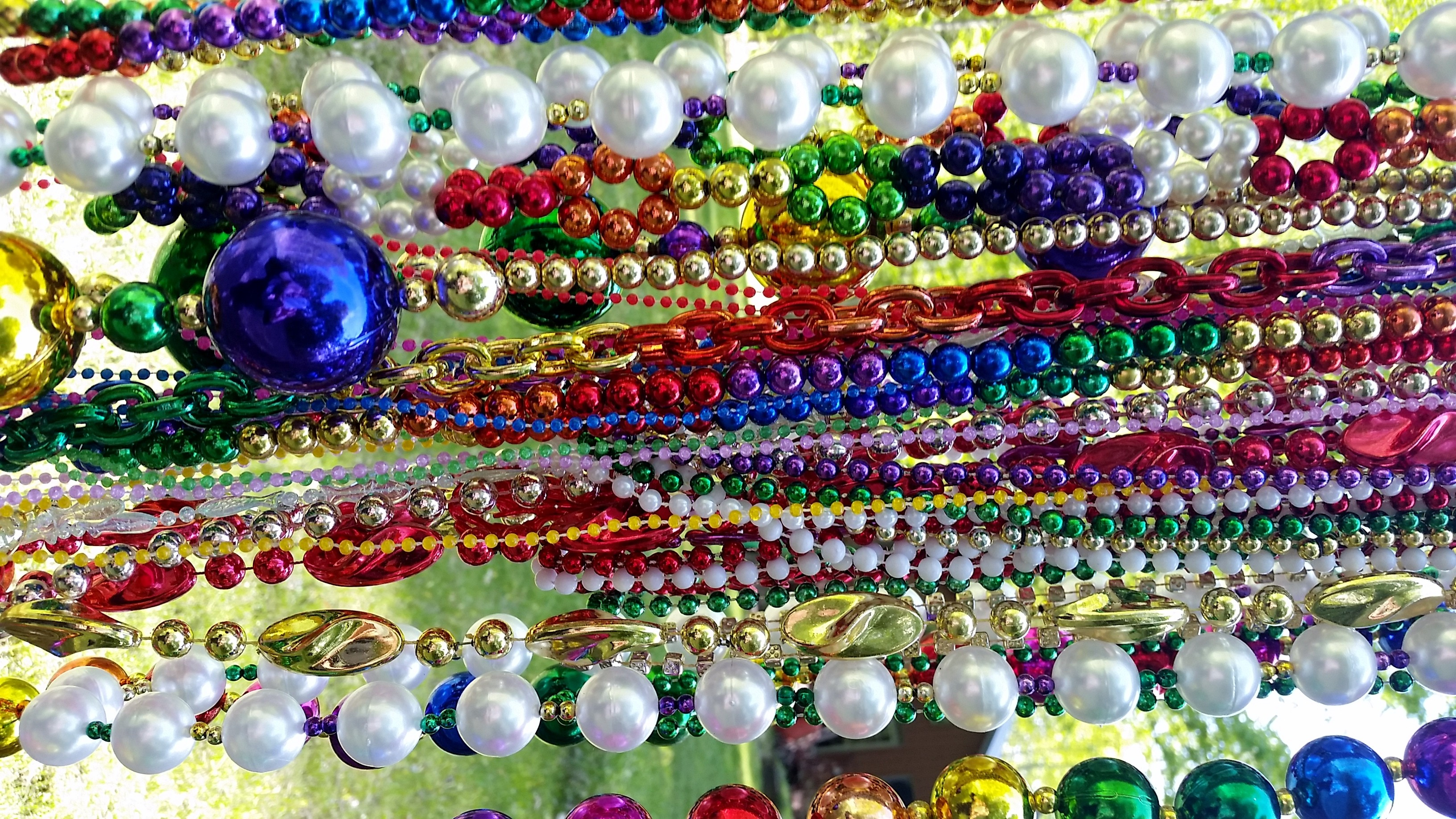 com strands mixed on and wholesale electroplate hole aliexpress buy free color round bead celebrations mardi get beads glass shipping carnival gras w