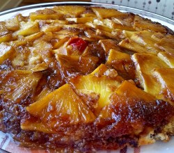 """Pineapple Upside-Down Cake,"" from Make It Like a Man!"