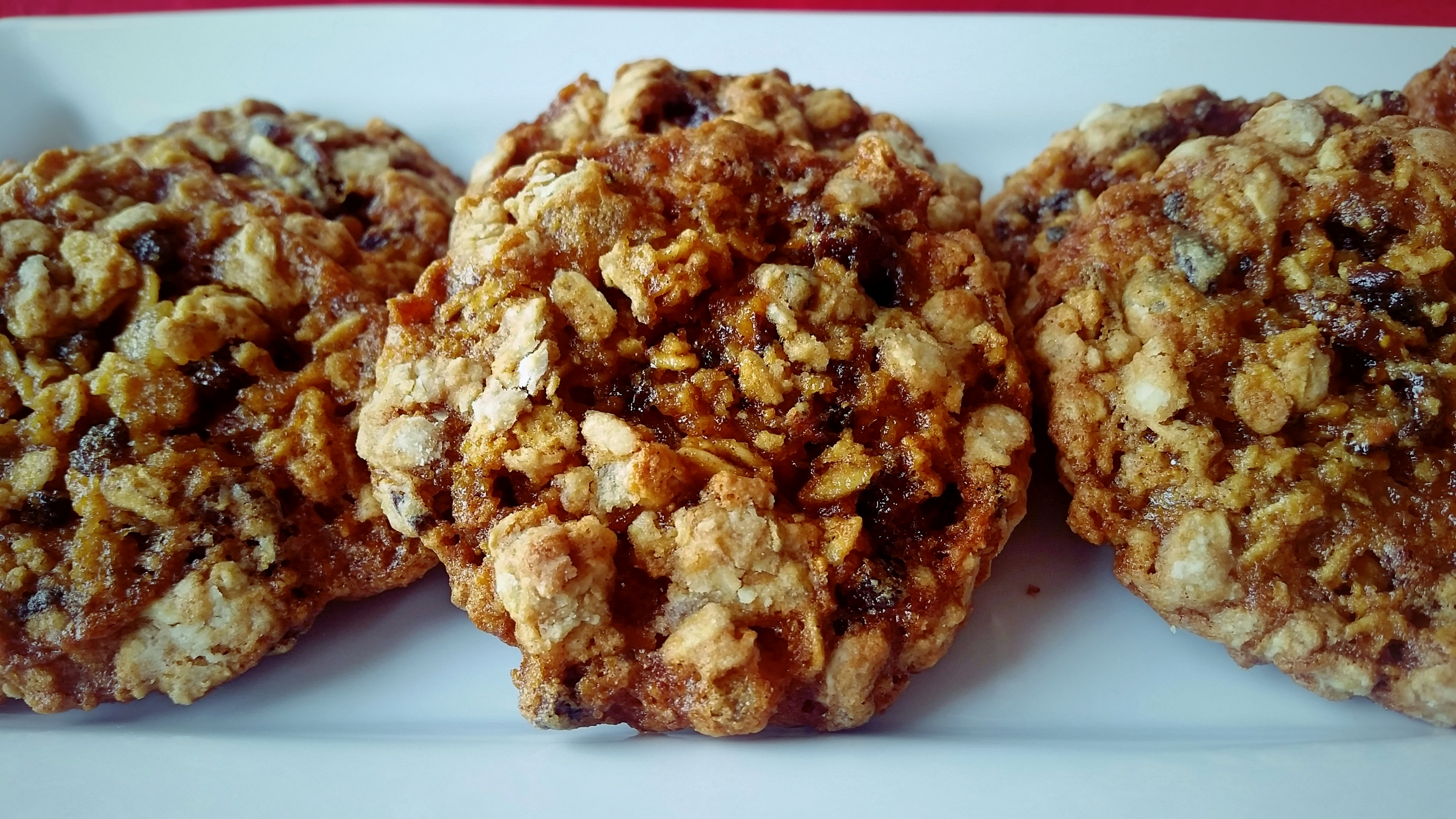 """""""Gingerbread Oatmeal Cookies,"""" from Make It Like a Man!"""