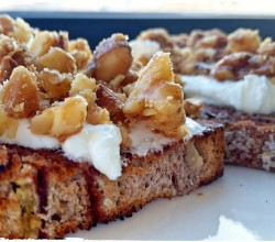 """""""""""Goat Cheese-Walnut Toasts,"""" from Make It Like a Man!"""
