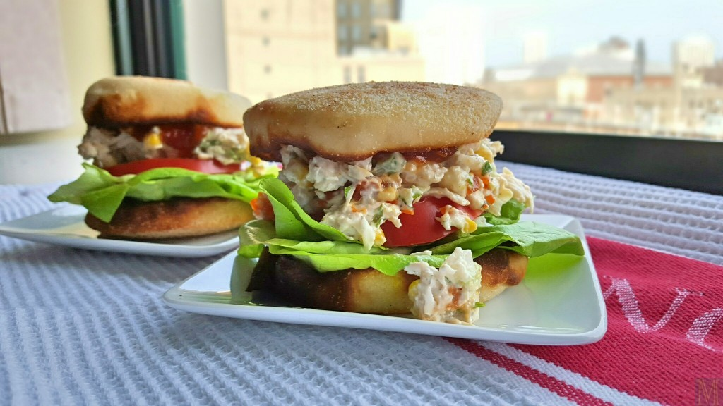"""Chicken Salad Sandwich,"" from Make It Like a Man!"