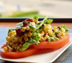 """Corn & Tomato Salad,"" from Make It Like a Man!"