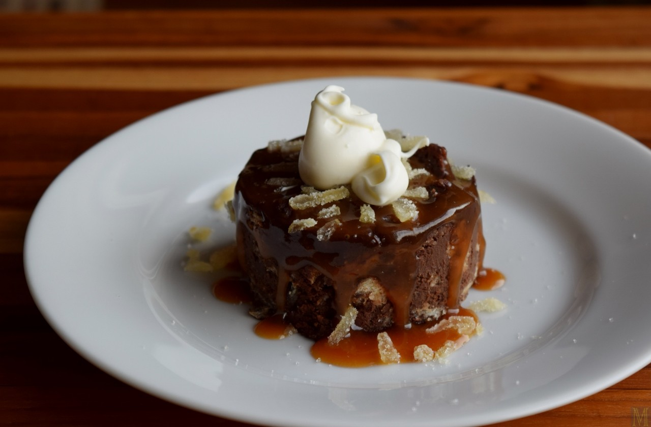 """""""Chocolate Bread Pudding,"""" from Make It Like a Man!"""