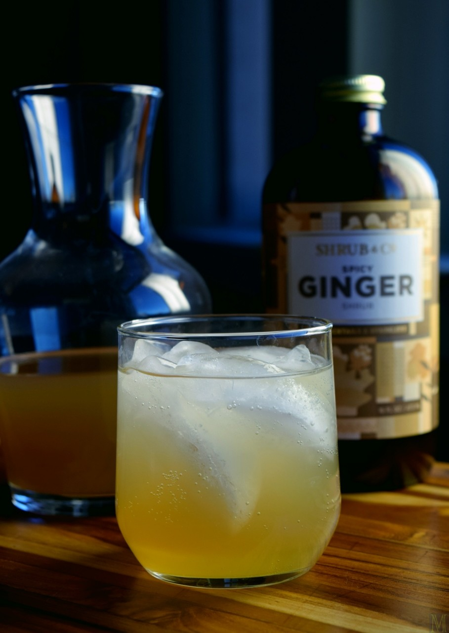 """""""Ginger Shrub Cocktail,"""" from Make It Like a Man!"""