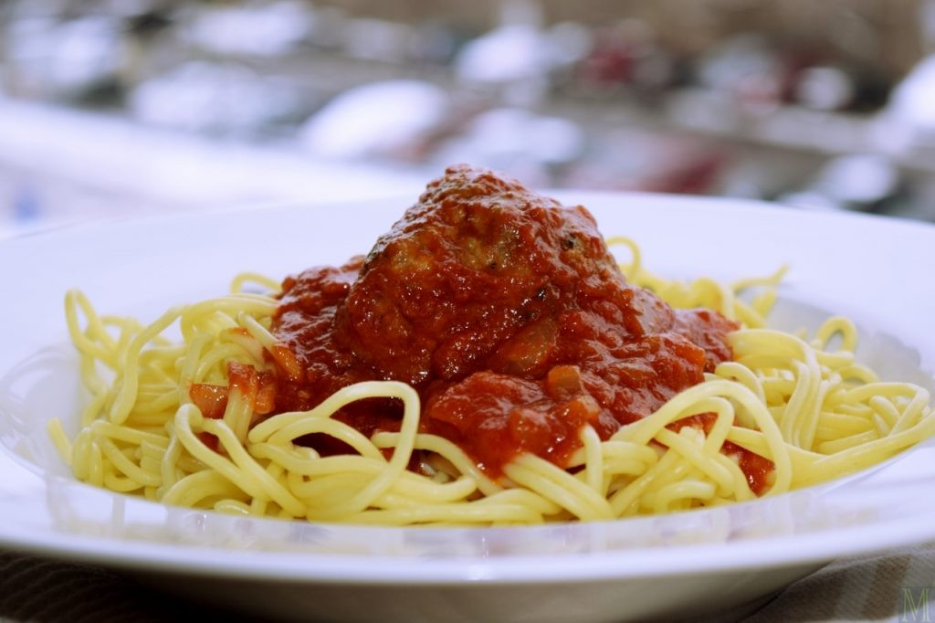 """""""Spaghetti with Meatballs,"""" from Make It Like a Man!"""
