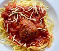"""Spaghetti with Meatballs,"" from Make It Like a Man!"