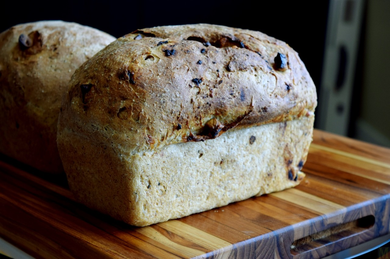 """""""Light Rye Bread with Onion, Garlic, Herbs, and Parmesan"""" from Make It Like a Man!"""