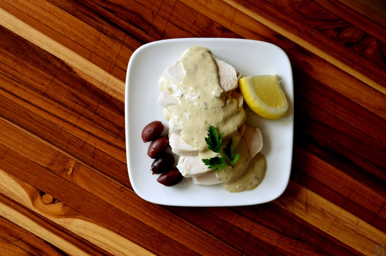 """Pollo Tonnato,"" from Make It Like a Man!"