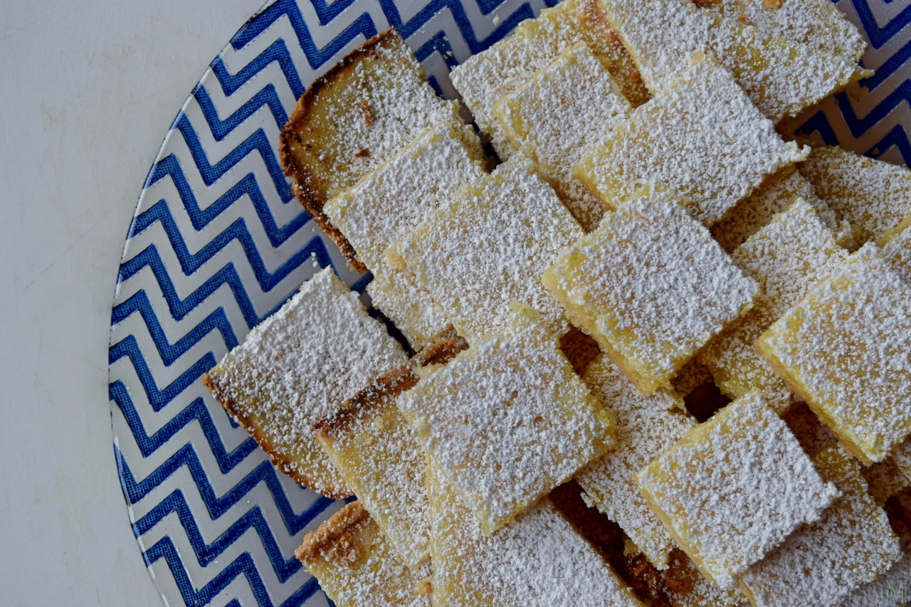 """Simple, Super-Tangy Lemon Bars,"" from Make It Like a Man!"
