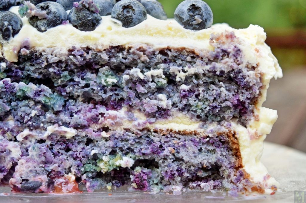 """""""Blueberry Eclipse Cake,"""" from Make It Like a Man!"""