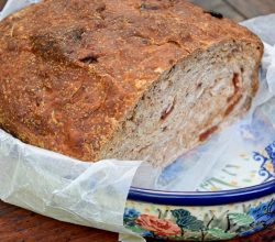 """Cherry-Coconut Bread,"" from Make It Like a Man!"