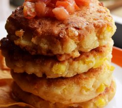 """Mexican Corn Cakes,"" from Make It Like a Man!"